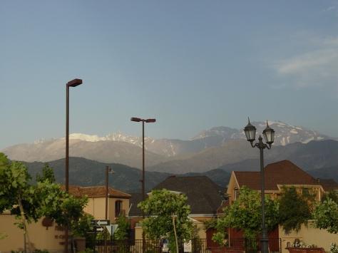 Verano en Santiago de Chile