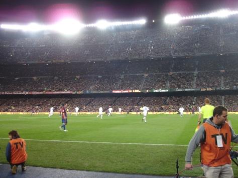 Camp Nou.  Messi